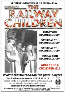 Railway Children flyer