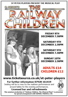 Railway Children flyer